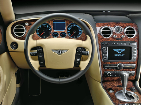 Bentley Flying Spur Interior