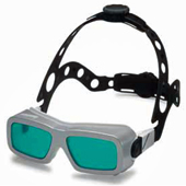 Head Support System for LASERVISION Laser Safety Eyewear