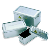 Metal Storage Box for LASERVISION Laser Safety Eyewear